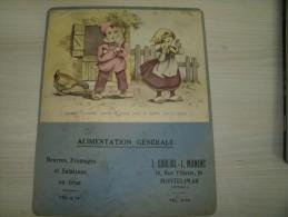 Drôme - Montélimar - Calendrier L. Souliol/L. Manent - Alimentation Générale - Calendriers