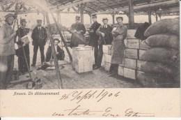 Controle Op De Kade In 1904 ???? - Antwerpen