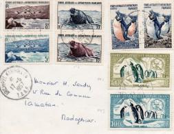 Kerguelen   Taaf  Lettre Mission Australe 1957 - Bases Antarctiques