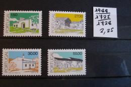 Portugal - Architecture Populaire - Année 1988 - Y.T. 1725/1728 - Neufs (**) Mint (MNH) - Nuovi