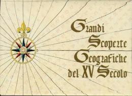 """Vaticano - I. P. - SCOPERTE GEOGRAFICHE DEL XV SECOLO - 1997 - L. 850 - Catalogo FILAGRANO """"C44"""" - FDC - 4 Cartoline - Entiers Postaux"""
