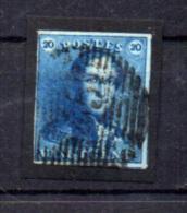 Léopold 1er,  épaulette , 2 Ø  Avec 4 Marges Et Deux Voisins      Cote 65 €, - 1849 Schulterklappen