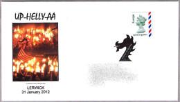 FESTIVAL UP-HELLY-AA. Vikingos - Vikings. Lerwick 2012 - Geschiedenis