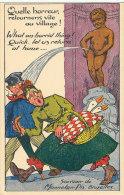 QQ 986 / C P A -HUMOUR- SOUVENIR DE MANNEKEN -PIS BRUXELLES - Humour
