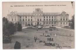 CAEN  -  ECOLE NORMALE D'INSTITUTEUR  -  HOPITAL AUXILIAIRE N°102  LES BLESSES - Caen