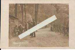 Argonne Meuse Apremont Camp Allemand  Carte Photo All   WWI Ww1 14-18 1.wk 1914-1918 Poilus - Krieg, Militär