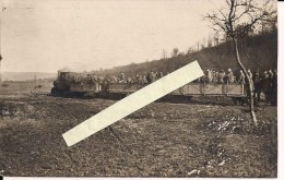 Argonne Meuse Argonnen Banh Voie Reduite Decauville  Carte Photo All   WWI Ww1 14-18 1.wk 1914-1918 Poilus - Guerre, Militaire