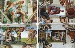 *VATICANO - 1^ EMISSIONE 2008 - Numeri 158/161* - Schede NUOVE (MINT) In Folder - Vaticano