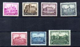 1930   Châteaux, Tourisme   308 / 314*, Cote 60 €, - Belgium