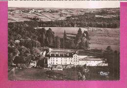 BEAUMONT DU PERIGORD   -   * VUE AERIENNE DU CHATEAU DE LUIZIER *   -    Editeur : COMBIER De Macon  -  N° 7-93 A - France