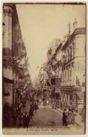 BORDEAUX  -  La Rue Sainte Catherine Pavoisée Pendant Les Fêtes De La Victoire  -  Ed. MD, N° 461 - Bordeaux