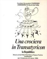 Viareggio - Carnevale Di Viareggio1984-con Francobollo E Annullo Postale - Viareggio