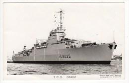 Bateaux-Marine Nationale France- T.C.D. ORAGE-  L90226  Photo Marius BAR - Warships