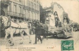 BORDEAUX FETE DES VENDANGES EN GIRONDE CHAR DES PYRENEES - Bordeaux