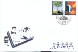 KOS 2010-155-156 EUROPA CEPT, KOSOVO, FDC - Kosovo