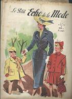 LE PETIT ECHO DE LA MODE  N° 13   -    MARS 1950 - Mode