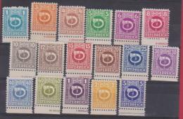 AUTRICHE //  Série   N 517 à 533  //   NEUF **  // - 1945-.... 2nd Republic