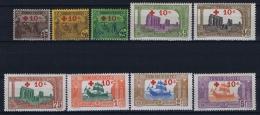 Tunesie: Yv 50 - 58 MNH/** Maury 49 - 57 Cat Value Maury € 700 - Unused Stamps