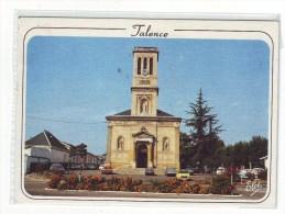 Cpm Cpsm   Talence  L'église - France