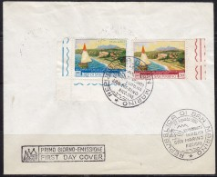 3211. San Marino, 1960, Philatelic Exhibition, FDC - FDC