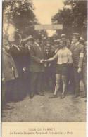 Reproduction Cecodi - Tour De France - Le Comte Zeppelin Félicitant Trousselier à Metz - Cycling