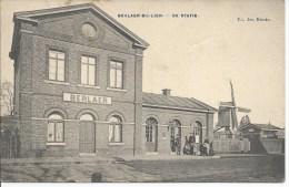 Berlaar Berlaer Bij Lier  Animatie  Statie Gare Station Prachtig Molen Moulin - Berlaar