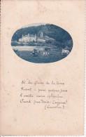 CPA Château, Vaches - Poème Lamartine (0379) - Schriftsteller