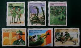 SCOUTISME 1998 - NEUFS ** - YT 1255CY/DD - MI 2205/10 - Guinée (1958-...)