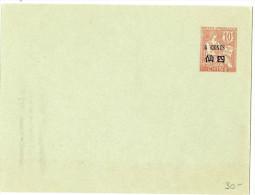 LBL19 - CHINE EP ENV MOUCHON 10c SRCH. 4c CARMIN  123x96mm ACEP N° ENV 14  COTE EUR  30.00 - Neufs
