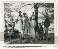 -  Belle Photo Ancienne, Un Dimanche Chez Les Ouimus ?, à Nermier, Petit Village Du Jura, Famille LAMOURET, Tbe, Scans. - Persone Identificate