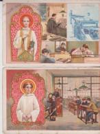 Lot De 2 Chromos Chocolat Ibled St Jean Et St Louis - Tea & Coffee Manufacturers