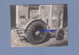 Photo Ancienne - Tracteur Ancien Renault - Cars