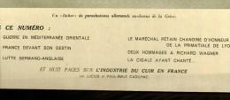 1941 Guerre ALLEMAGNE-ANGLETERRE ;Pétain ;Paras Allemands En Grèce; Pont-aux-Dames; Restrictions;LARZAC; Pays Des Gants - Newspapers