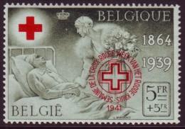 Belgie - Rode Kruis 1941 Met Opdruk - Postzegelfoor - 582BA - Neufs