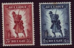 Belgie - Infanterie Brussel 1932 - 351-352** - Neufs