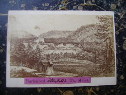 Marianske Lazne-Marienbad-PHOTO-photograhfer J.Th.Meier-64x92mm-cca 1860-(cca 1855???) (2454) - Repubblica Ceca