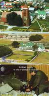 TELECARTES  FALKLAND    (lot De 3)  ***** - Falkland