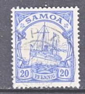GERMANY  SAMOA  60  (o) - Colony: Samoa