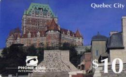 CARTE PREPAYEE CANADA  PHONE LINE *10$  Quebec City - Canada
