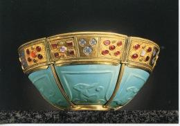 Le Trésor Saint Marc Venise : Coupe Verre Turquoise - Paris Grand Palais Expo 1984 - Arts