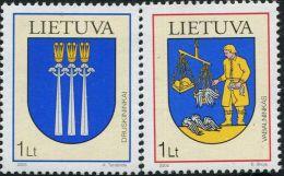 LV0079 Lithuania 2005 City Emblem 2v MNH - Lithuania