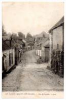 CPA 1918 ST VALERY SUR SOMME RUE D´ARGOULES - Saint Valery Sur Somme