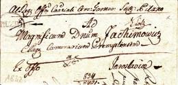 POLAND Prephilatelic 1832 PILZNO To JAROSLAW Full Letter - Pologne