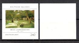 Deutschland / Germany / Allemagne 2013 2979 ** Max Liebermann Selbstklebend - Selfadhesive (weiße Rückseite) - Ungebraucht