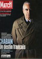Paris Match 2687 Villeret Chaban-delmas Vache Folle Bernard Arnault Dany Boon Tapie - Gente