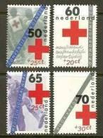 NEDERLAND 1983 MNH Stamp(s) Red Cross 1289-1292 #7044 - Period 1980-... (Beatrix)