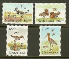 NEDERLAND 1984 MNH Stamp(s) Birds 1301-1304 #7048 - Unused Stamps