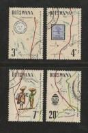 BOTSWANA 1972 CTO Stamp(s) Mafeking Boat Post 88-91  #1583 - Ships
