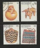 BOTSWANA 1979 CTO Stamp(s) Handicrafts 230-233  #1605 - Art