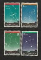 BOTSWANA 1972 CTO Stamp(s) Star Constellation 84-87 #1582 - Space